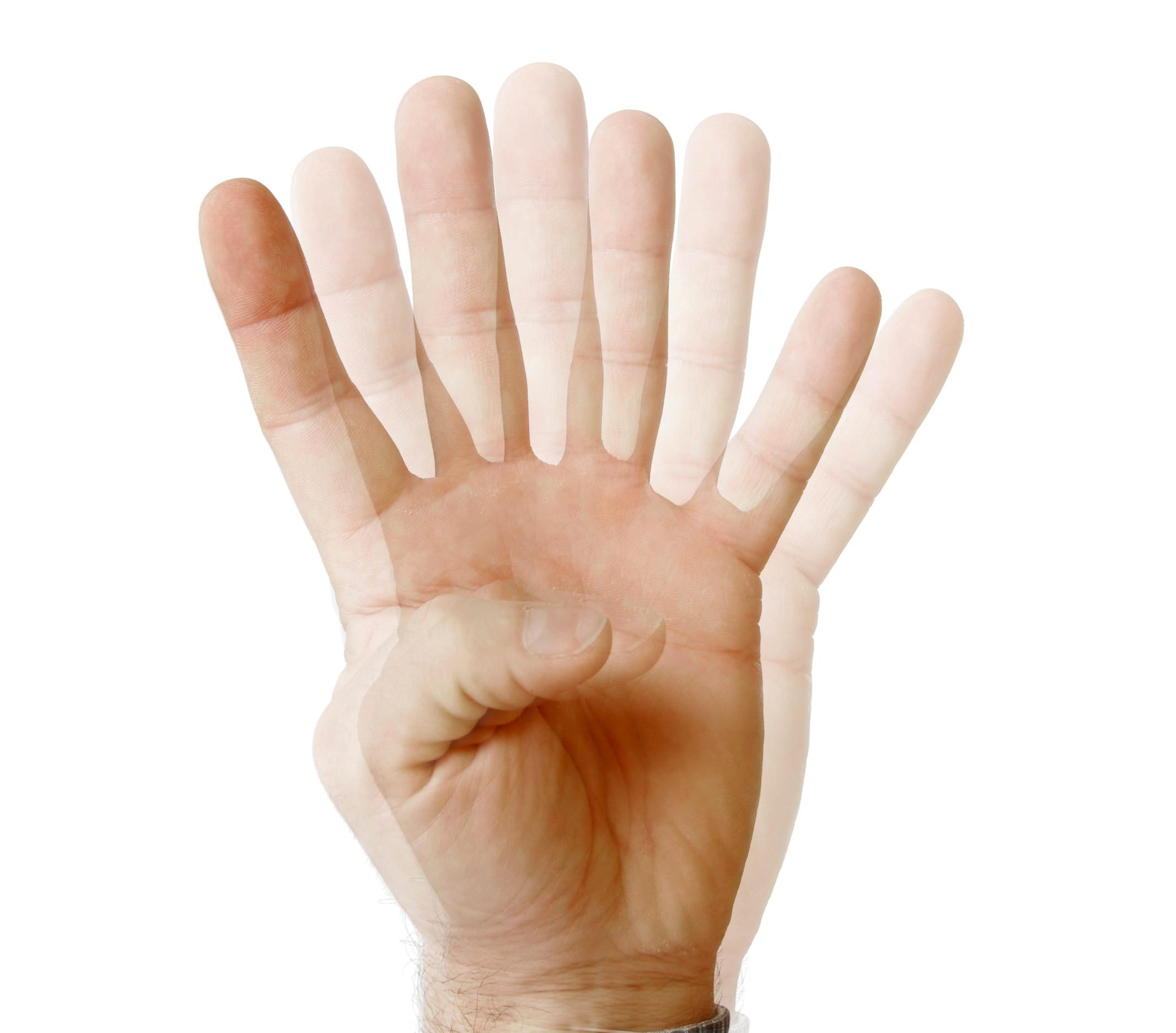 käsien vapina