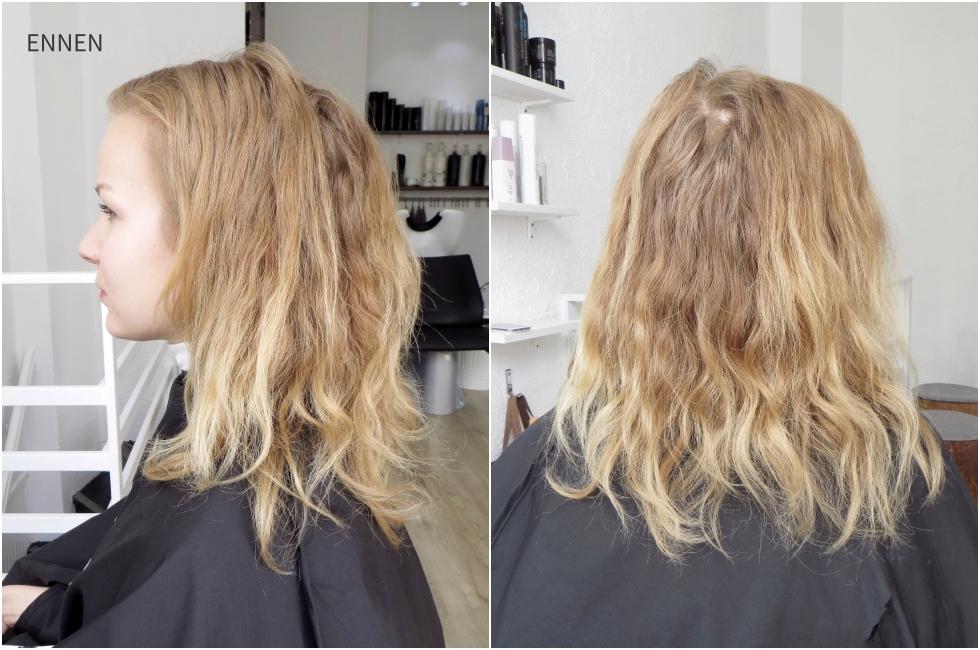 kuivien hiusten kotihoito