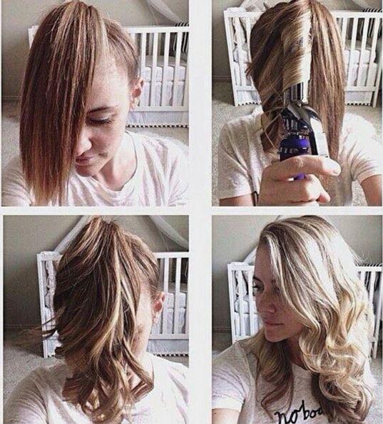 puolipitkät hiukset kiharat