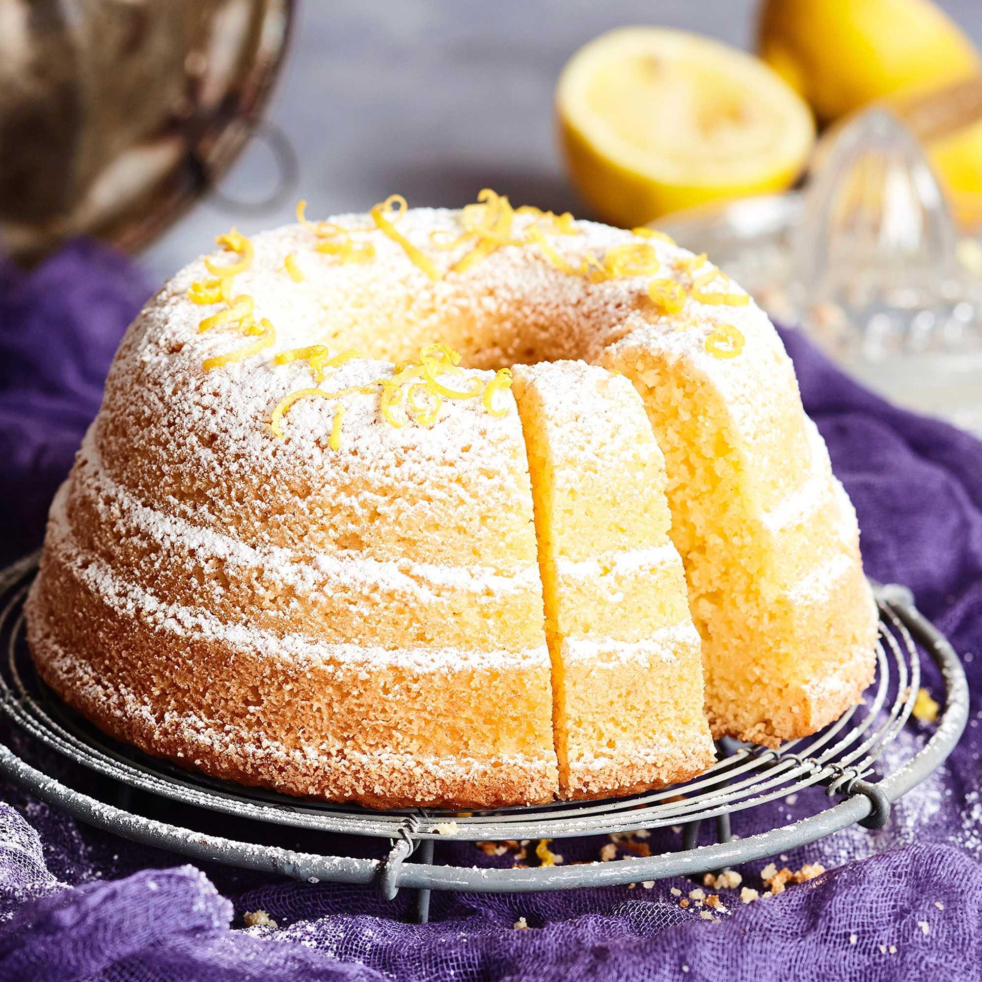 7 Minuutin Kakku Sitruuna