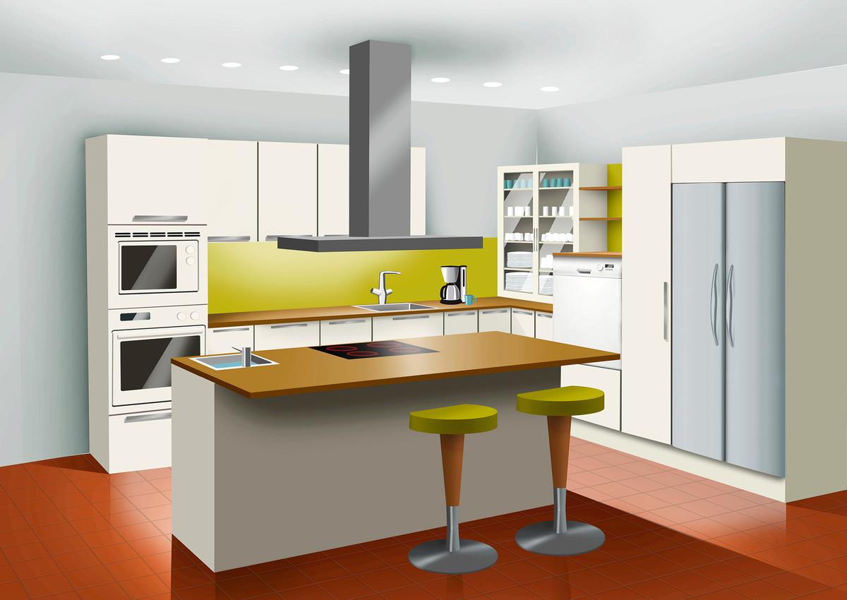 Toimivan keittiön suunnittelu  Meillä kotona
